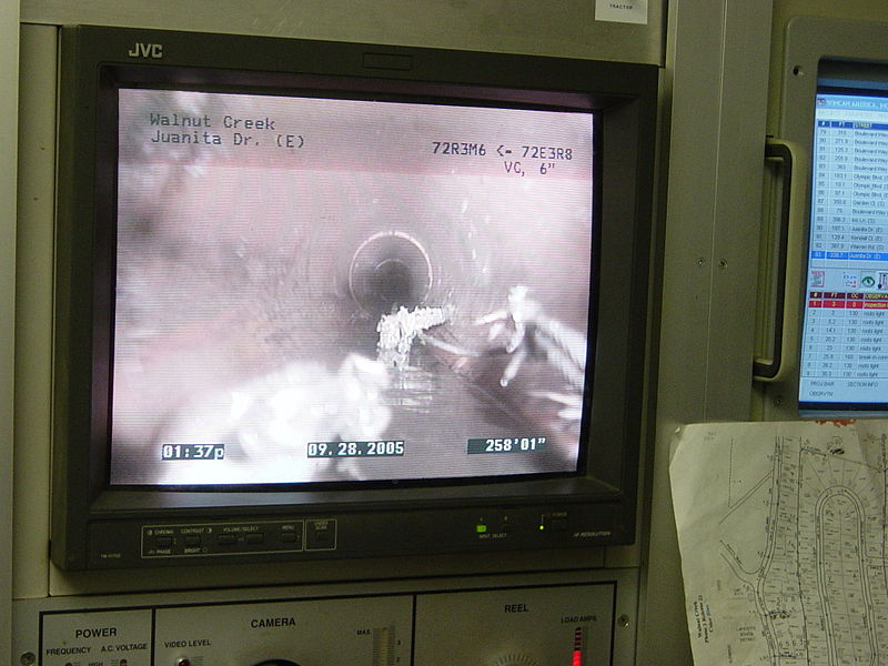 sewer camera inspection in Bedford, IN